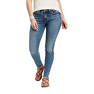 Silver Jeans Co. Women's Mazy High Rise Skinny Jeans