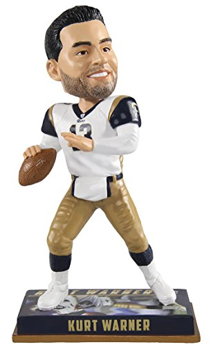 (Forever Collectibles Kurt Warner St. Louis Rams NFL Legends Series Special Edition Bobblehead)