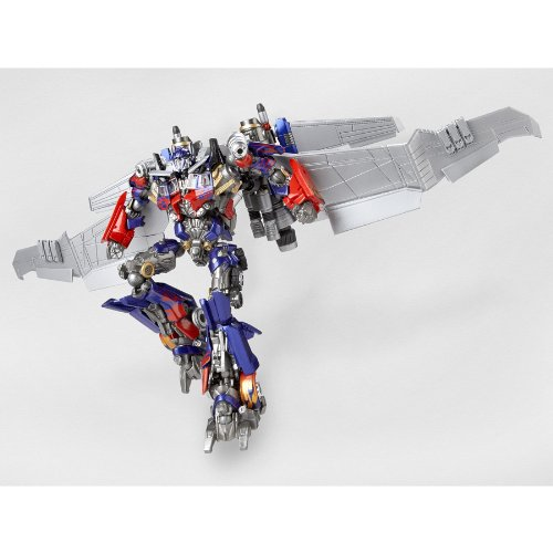 already painted Special effects Revoltech TRANSFORMERS Dark of the Moon Optimus Prime Jet wing equipped edition//Action figure Legacy OF Revoltech//non scale ABS/&PVC