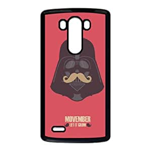 LG G3 Cell Phone Case Black_Vader Moustache Zylbl