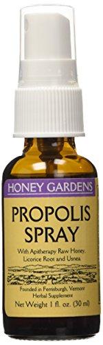 Honey Gardens Propolis Spray, 1-Ounce  (Pack of 2) ()