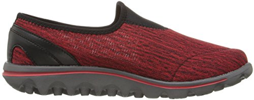 Propet Women's Travelactive Slip-On Oxford Black/Red Heather release dates sale online gpwlw