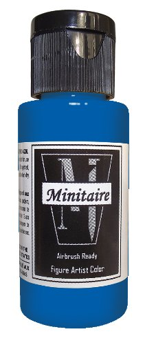 Badger Air-Brush Company, 2 Ounce Bottle Minitaire Airbrush  Ready, Water Based Acrylic Paint, Ghost Tint: Blue Ghost Paint Brush