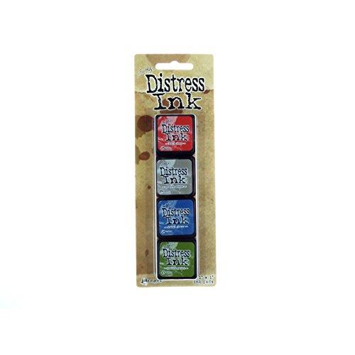 Distress Mini Ink Kits-Kit 5 Ranger 394079