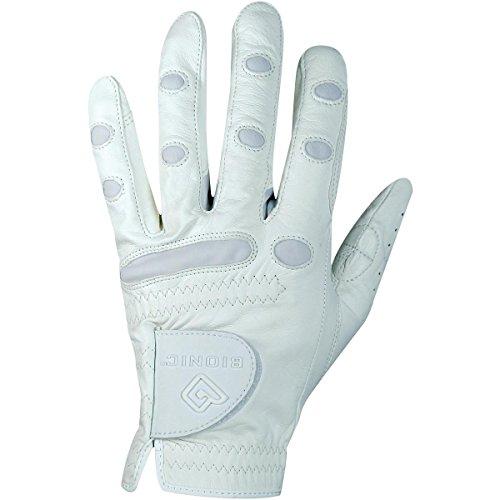 Bionic Gloves Women's SHOWGRIP Equestrian Gloves White X-Large