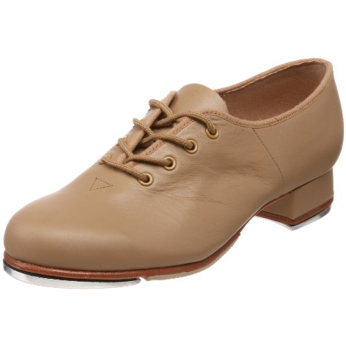 Bloch Dance Women's Jazz Tap Tap Shoe, Tan, 5 X(Medium) US by Bloch