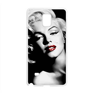 Marilyn Black and white Case Cover For samsung galaxy Note4 Case