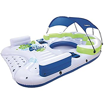 CoolerZ X5 Canopy Island Inflatable Floating River Raft