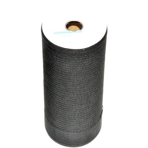 Twill Tape - Black Twill Tape - 800 Yard Rolls in 1/4-100% COTTON by Zipperstop