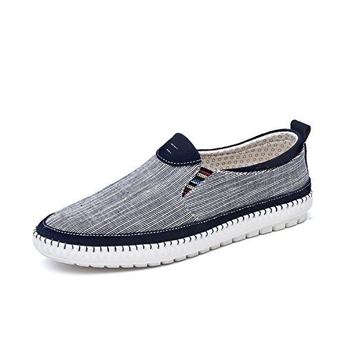 Sonjer Men Canvas Loafers Breathable Canvas Men Shoes 2017 Top Men's Flats Slip On Outdoor Shoes Summer Casual Shoes Man B0755CMGXB Shoes 5a6735