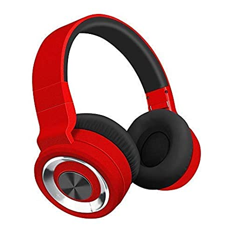 Alitoo Auriculares Bluetooth de Diadema Inalámbricos, Cascos Bluetooth Plegable Wireless Headphones Over Ear con Micrófono