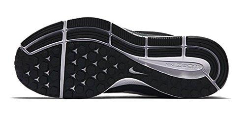 Wmns Grey Zapatos Pegasus Air para Schwarz dark para Correr Nike Zoom 34 Black Mujer White qUxaHHw