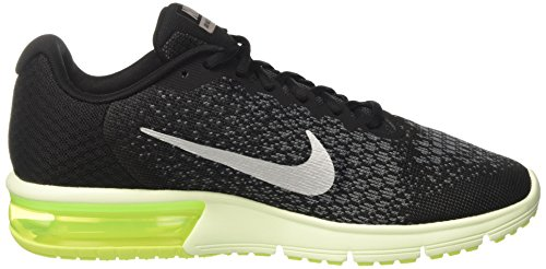 Zapatillas Para Correr Nike Hombres Air Max Sequent 2 (11 D (m) Us, Black / Mtlc Cool Grey-anthracite)