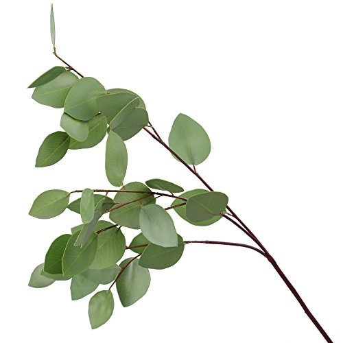 Ringlong Artificial Eucalyptus Leaf Spray for Floral Arrangement Home Hotel Wedding Party Foliage Decor