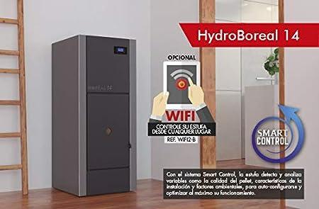 CALDERA DE PELLET BOREAL HYDROBOREAL 14 KW