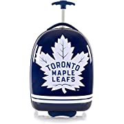 Toronto Maple Leafs Officially Licensed Boy's 18″ Carry-On Wheeled Luggage – Blue