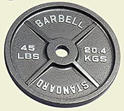 45 Pound Olympic Weight Plates - 1 Pair