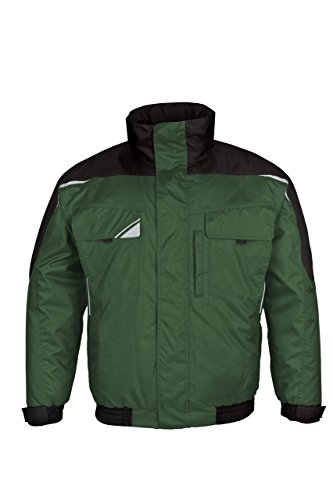 BESTWORK Pilotjacke khaki/schwarz Gr. 2XL