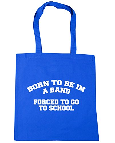 HippoWarehouse - Bolsa de playa de Algodón  Mujer Azul Aciano