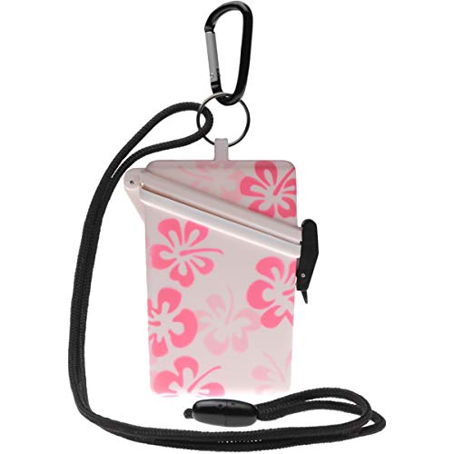 Witz Flower Keep-It Safe Waterproof Case, Pink