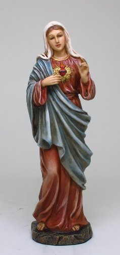 Sacred Heart of Mary Statue Purity Charity and Devotion