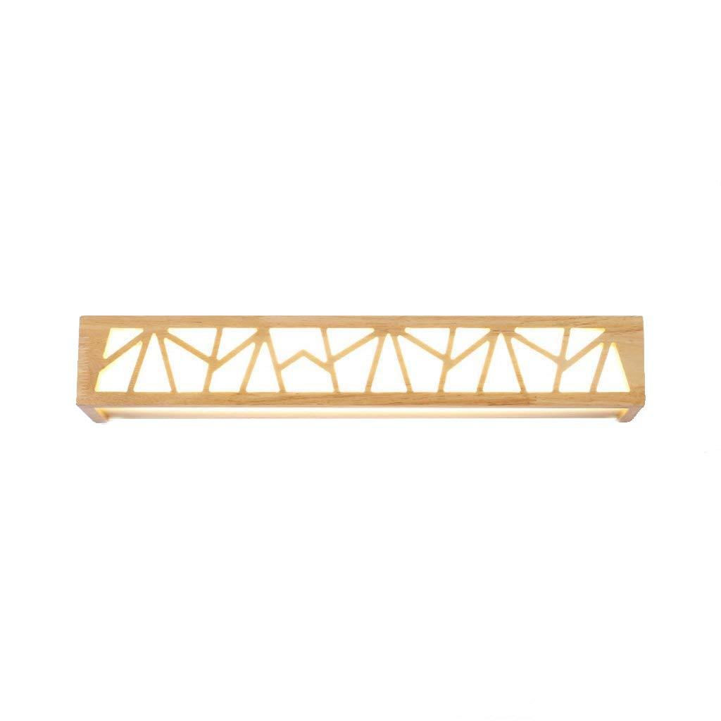 fornire un prodotto di qualità Lampade da comodino lampada da comodino semplice moderno moderno moderno creativo caldo Nordic soggiorno in legno massello LED parete lampada da parete  controlla il più economico