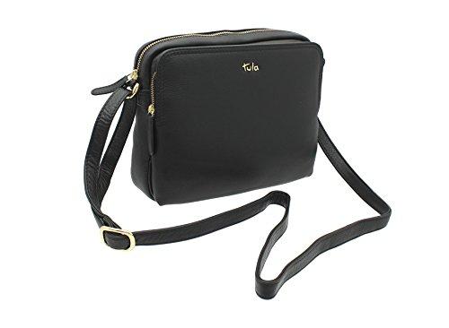 Tula, sac à bandoulière femme, Angora (rose) - 8376 Black 2
