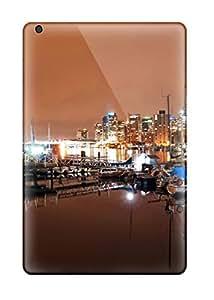 [hCfDUVY707LrIEc]premium Phone Case For Ipad Mini/mini 2/ Vancouver Coal Harbour Nights Tpu Case Cover