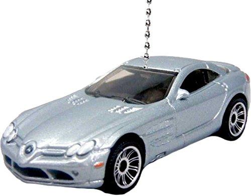 matchbox-cars-trucks-ceiling-fan-pulls-ornaments-pendants-mercedes-benz-slr-mclaren-silver