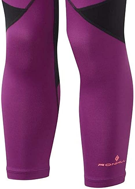 Black Ronhill Stride Revive Womens 7//8 Running Tights