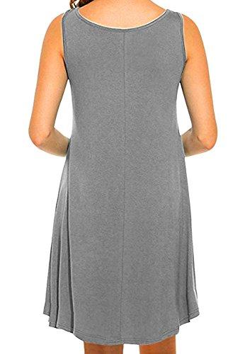 Les Robes De Soirée Des Femmes Omzin 1-gris