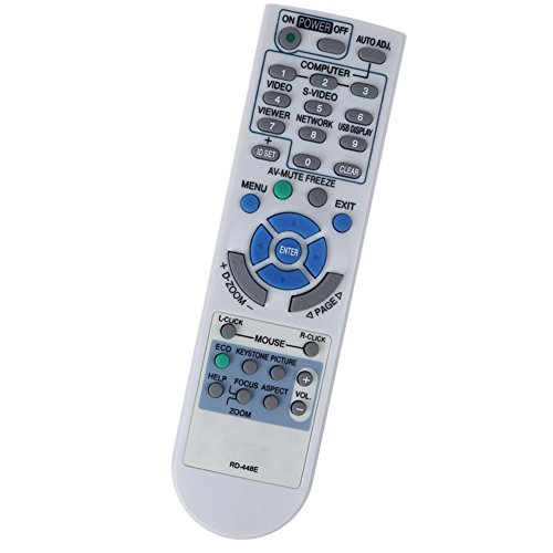 New Replacement Remote Control for NEC LCD Projector NP300+ NP1000 NP2000 NP1150 NP2150 NP-M311W NP-M311X V260X