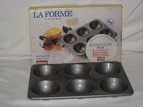 Vintage Kaiser La Forme German Mohrenkopf Moorkop Mold Cake Pan W. Germany