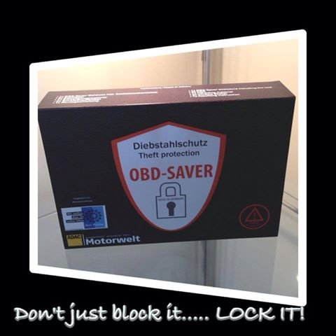 OBD Saver for Land Rover, security device to lock the OBDII connector to  help prevent keyless car theft