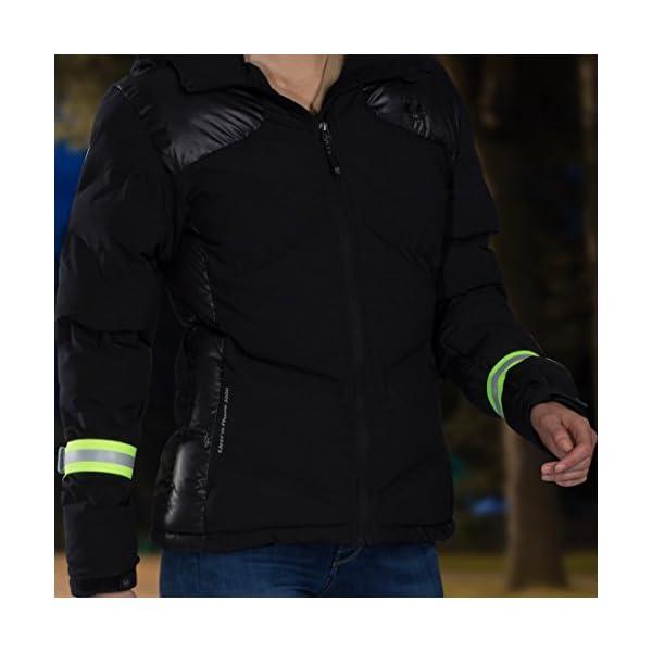 Ultrasport Banda reflectante; banda de reflejo de luz con velcro para mayor seguridad en cualquier actividad outdoor… 12