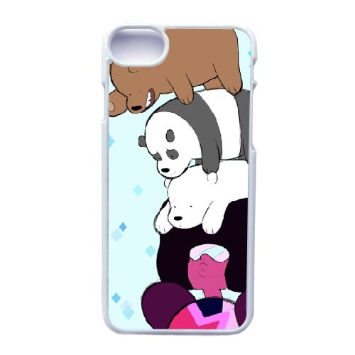 Coque,Apple Coque iphone 7 (4.7 pouce) Case Coque, Generic We Bare Bears Chloe Cover Case Cover for Coque iphone 7 (4.7 pouce) blanc Hard Plastic Phone Case Cover