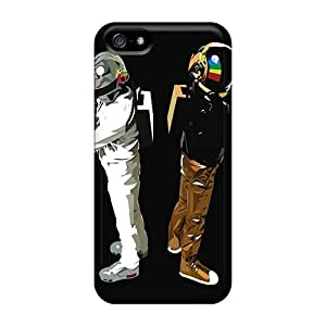 Iphone 5/5s Case, Premium Protective Case With Awesome Look - Daft Punk Attitiude