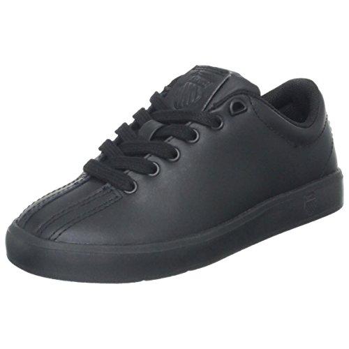 K-Swiss 63100 Clean Classic L Running Shoe (Little Kid/Big Kid),Black,5.5 M US Big Kid