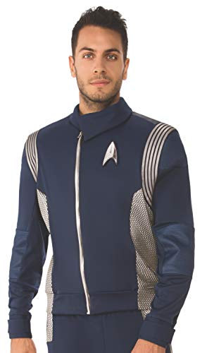 Rubie's Costume Co Star Trek Discovery Science Costume Uniform, Silver, Standard -