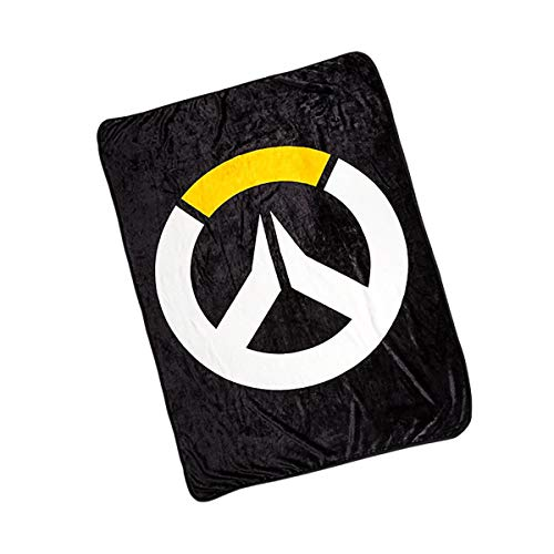 """Surreal Entertainment Overwatch Logo Fleece Throw Blanket Comforter 