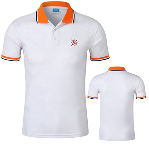 K10 Godesent Well-done Wearable Printed Polo Shirt-W-M