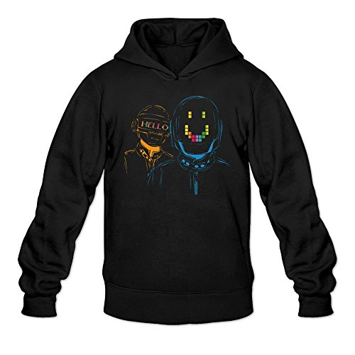 Men's Random Access Memories Daft Album Punk Hoodie Black Cool (Big Brother And The Holding Company Tour Dates)