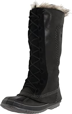 Sorel Cate The Great Boot - Women's Black Pewter, 6.0