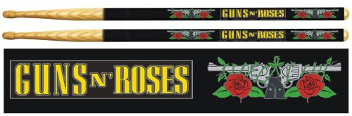 Guns and Roses Rock Drum Sticks