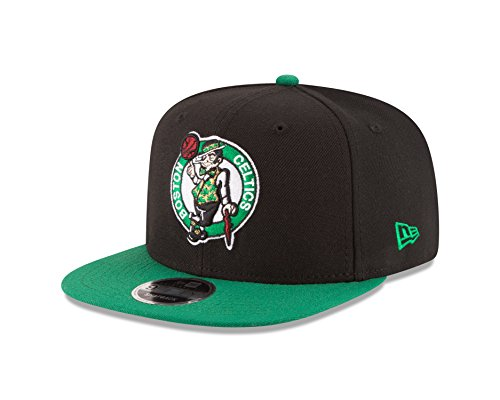 New Era NBA Boston Celtics Men's 9Fifty Original Fit 2Tone Snapback Cap, One Size, - Hats New Celtics Era Boston
