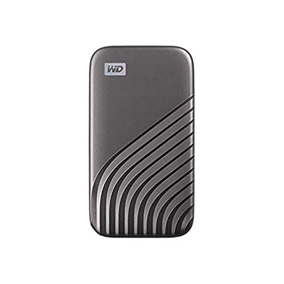 My Passport SSD 1TB Gold, 1050MB/s Read, 1000MB/s Write, for PC & Mac, 5Y Warranty