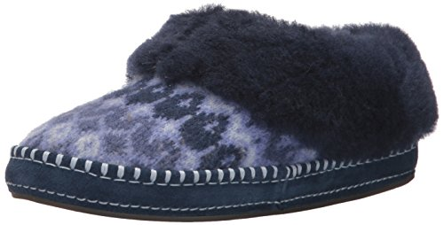 UGG Women's Wrin Icelandic Slipper, Navy, 11 M US by UGG