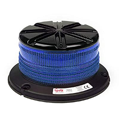 Grote 76665 Blue Low Profile Class I LED Beacon: Automotive