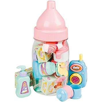 Amazon.com: Baby Doll Play Set, calentador de biberones ...