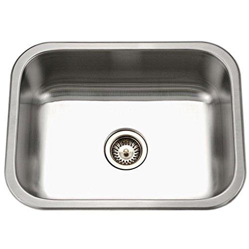 te Series Undermount Stainless Steel Single Bowl Kitchen Sink ()